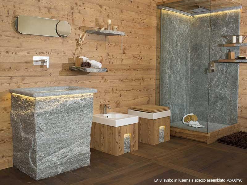 Bagno In Pietra Di Luserna : Lavorazione blocchi di luserna varallo vercelli dealberto graniti