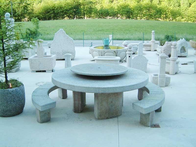 Lavorazione pietra di fiume varallo vercelli - Meccanismo rotante per tavolo ...