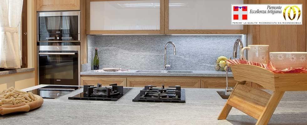 Lavorazione pietre naturali varallo vercelli piemonte valle d 39 aosta dealberto graniti - Top cucina pietra naturale ...